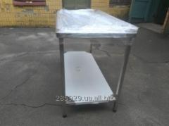 Tables, racks, bathtubs for salting of cheese from