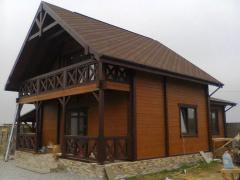Дом из натурального дерева