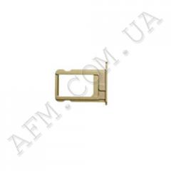Держатель SIM- карты для iPhone 6 золото
