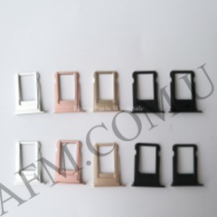 Держатель SIM- карты для iPhone 7,   серебристый