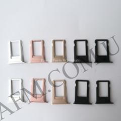 Держатель SIM- карты для iPhone 7,   черный матовый