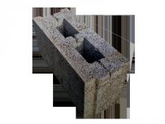 Блок стеновой керамзитобетонный пазогребневый