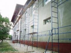 Леса для ремонтно-строительных работ