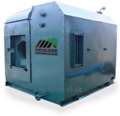 Паровой котел Е-1.6-0.9 на твердом топливе (шелуха