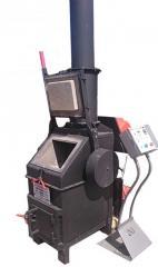 The furnace for burning of medical waste of UT50