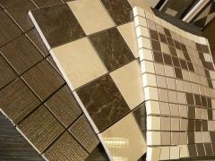 Декоры из мозаики