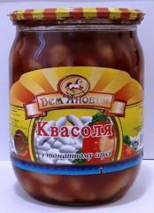 Фасоль в томатном соусе 540г. ДСТУ