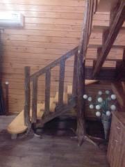 Входные лестницы из дерева