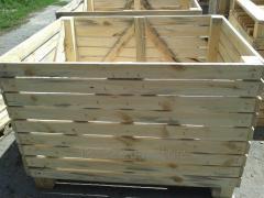 Деревянные контейнеры(ящики).