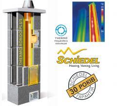 Керамический дымоход SCHIEDEL Termo Rondo Plus 20+вентканал