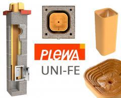 Керамический дымоход PLEWA UNI FE 18/18 см