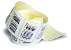 The operational press of self-adhesive labels in a