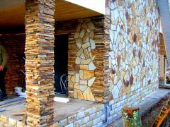 Plitnyak sandstone, Stone flat natural sandstone