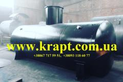 The tank for storage of transformer oil