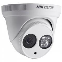 Уличная купольная IP-камера Hikvision