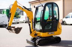 Diesel JCB 8016 mini-excavator