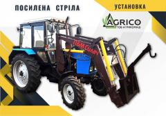 Front-end loader on a tractor in Cherkassy, ​​Odessa
