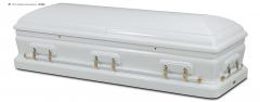 Гроб эксклюзивный СЕНАТОР белый