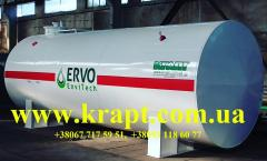 The tank for storage of oil products of