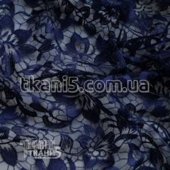 Fabric Guipure NEW embroidery (dark blue) 5743