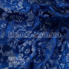 Fabric Guipure NEW embroidery (electro-blue) 5746