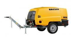 KAESER portable compressors with the diesel engine