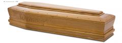 Гроб стандартный лакированный М-061