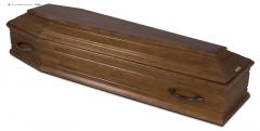 Гроб эконом лакированный К-Ф
