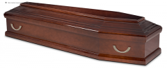 Гроб эконом лакированный К-36 КОМБИ