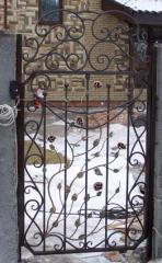 Калитка кованая, заборы, ворота, балконы Киев