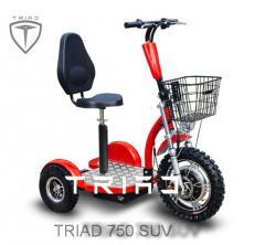 Electric TRIAD 750 XL 1 scooter trayk
