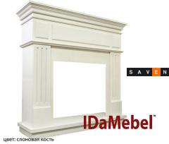 Jelektrokamina portal of companies Dimplex fireplace IDaMebel New York (Portal without the hearth under the electric fireplaces)