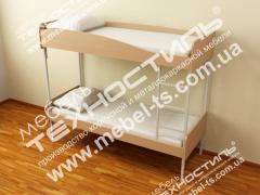 Кровати двухъярусные (1900 х 800 мм.)