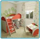 Мебель детская: детские домики, горки, кухни,