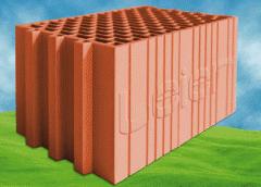 Blocks ceramic for external walls Laer