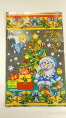 Фольгированный пакет для конфет №38 25x40 Гномы и Фея 100 шт.
