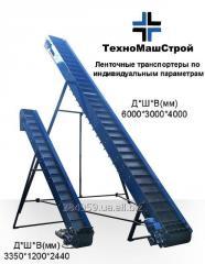 Ленточный транспортер ТЛ-300 (Конвейер, Погрузчик)