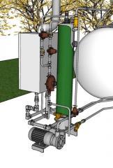 Autonomous gas supply the zernosushilok -