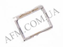 Держатель SIM- карты для HTC 801e One M7 белый