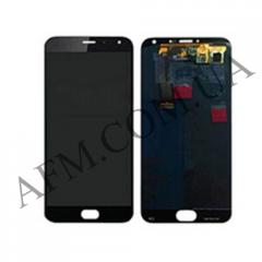 Дисплей (LCD) Meizu MX5 с сенсором черный