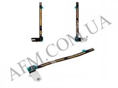 Шлейф (Flat cable) iPad Air 2 с конектором наушников белый