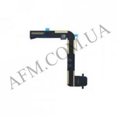 Шлейф (Flat cable) iPad Air 2 с разъемом зарядки черный
