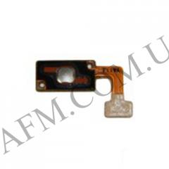 Шлейф (Flat cable) Samsung G7102 Galaxy Grand 2 с кнопкой Меню белого цвета