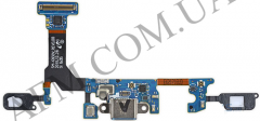 Шлейф (Flat cable) Samsung G930F Galaxy S7 с разъёмом зарядки
