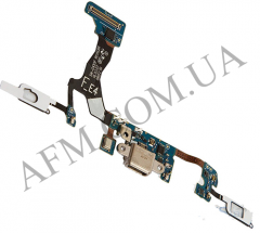 Шлейф (Flat cable) Samsung G935F Galaxy S7 EDGE с разъёмом зарядки