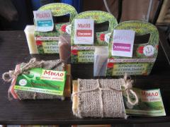 Мыло натуральное ручной работы в Украине, Мыло