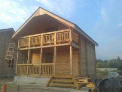 Дом частный деревянный