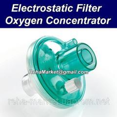 Внутрений электростатический фильтр для концентратора кислорода