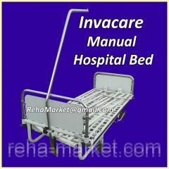 Б/У Hospital Bed Надежная Металлическая кровать с мануальным приводом для больниц и частных клиник.