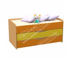 Bed nursery sliding